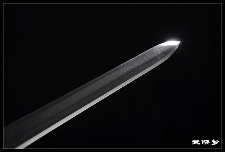 首页 汉剑 八面如意宝剑|花纹钢|★★★  产品名称    八面如意宝剑
